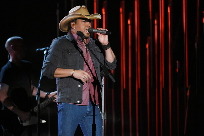 Country star Jason Aldean